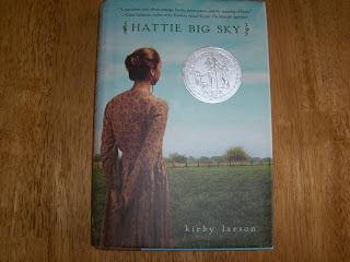 Hattie Big Sky book cover by Kirby Larsen