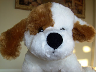 stuffed animal dog