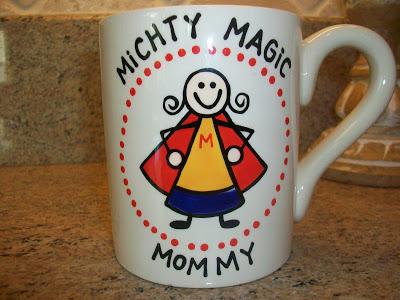 mighty magic mommy mug