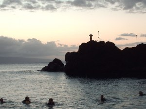 cliff diving kanapali maui