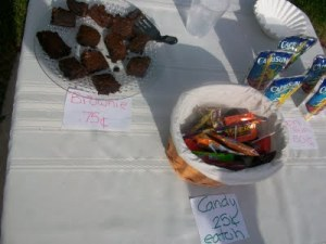 bake sale items