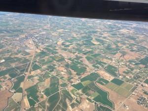 Landing in Idaho.