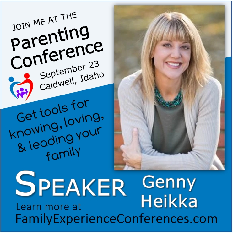 Genny Heikka Speaking Parenting Conference