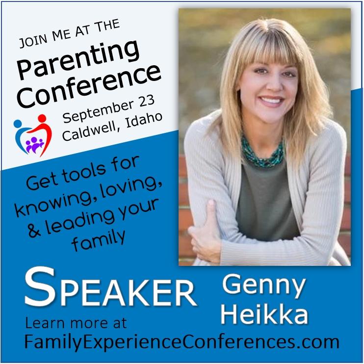 Genny Heikka Speaking Parenting Conference
