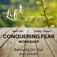 Genny Heikka Conquering Fear Workshop