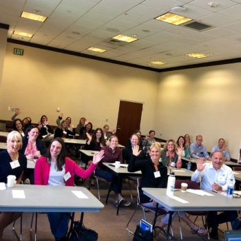 Genny Heikka Mentors and Sponsors session at the women and leadership conference at Boise State University.